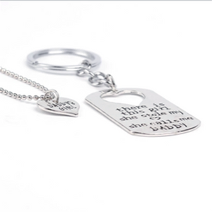 MADARI FASHIONS - Father Daughter Keychain Necklace Set and more