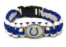 Load image into Gallery viewer, MADARI FASHIONS - Indianapolis NFL Paracord Bracelet