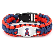 Load image into Gallery viewer, L.A. Angels MLB Paracord Bracelet