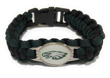 Load image into Gallery viewer, MADARI FASHIONS - Philadelphia NFL Paracord Bracelet