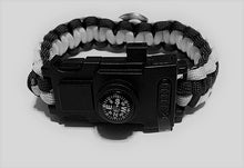 Load image into Gallery viewer, MADARI FASHIONS - Kansas City NFL Paracord Bracelet