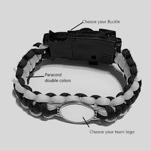 Load image into Gallery viewer, MADARI FASHIONS - Create Your Own Paracord Bracelet & Survival Buckle