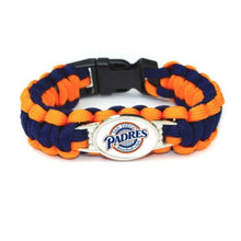 Load image into Gallery viewer, San Diego MLB Paracord Bracelet