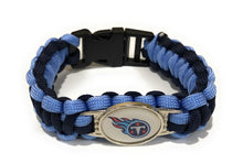 Load image into Gallery viewer, Tennessee NFL Paracord Bracelet