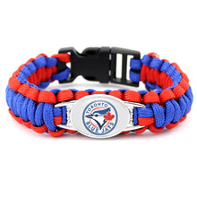 Load image into Gallery viewer, Toronto MLB Paracord Bracelet