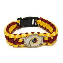 Load image into Gallery viewer, MADARI FASHIONS - Washington NFL Paracord Bracelet