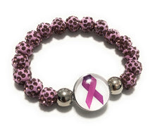 Load image into Gallery viewer, MADARI FASHIONS - Rhinestones Encrusted Cancer Bracelet