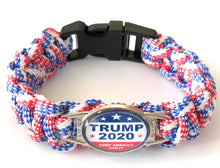 Load image into Gallery viewer, MADARI FASHIONS - Trump 2020 Paracord Bracelets