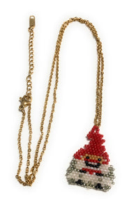 MADARI FASHIONS - Santa Claus Necklace