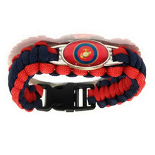Load image into Gallery viewer, MADARI FASHIONS - Marine Corps 2 Paracord bracelets