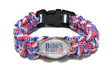 Load image into Gallery viewer, MADARI FASHIONS - Biden + Harris 2020 Paracord Bracelets