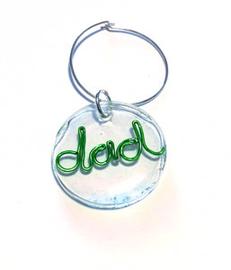 MADARI FASHIONS - Father's Day Wine Charms