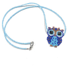 Load image into Gallery viewer, Custom Hand Beaded Owl