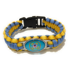 Load image into Gallery viewer, MADARI FASHIONS - Coast Guard 2 Paracord bracelets