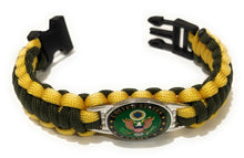 Load image into Gallery viewer, Army Style #1 Paracord Bracelet
