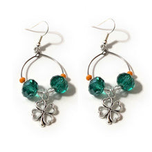 Load image into Gallery viewer, MADARI FASHIONS - Clover Earrings