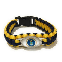 Load image into Gallery viewer, MADARI FASHIONS - Air Force Style #2 Paracord Bracelet