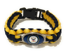 Load image into Gallery viewer, MADARI FASHIONS - Navy Style #2 Paracord Bracelet