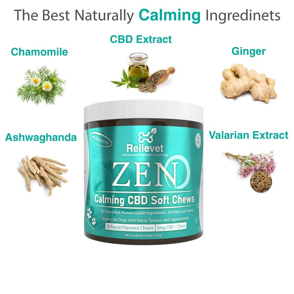 calming chews for dogs ingredients