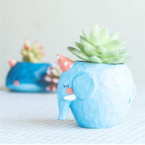 The Succulent Water Animal Planter