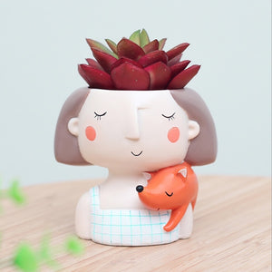 Little Lady Succulent Planter