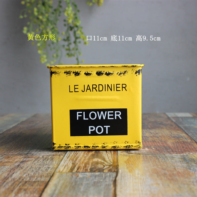 The French Bucket Planter