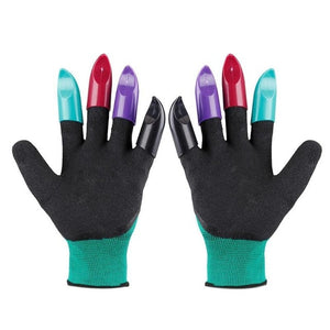 Plastic Claws Gloves Supplies Garden Plant