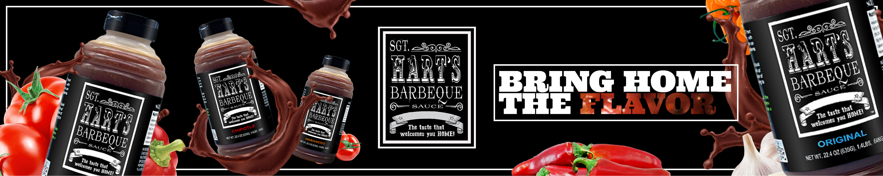 Bring Home The Flavor of SGT Hart's Barbecue Sauce
