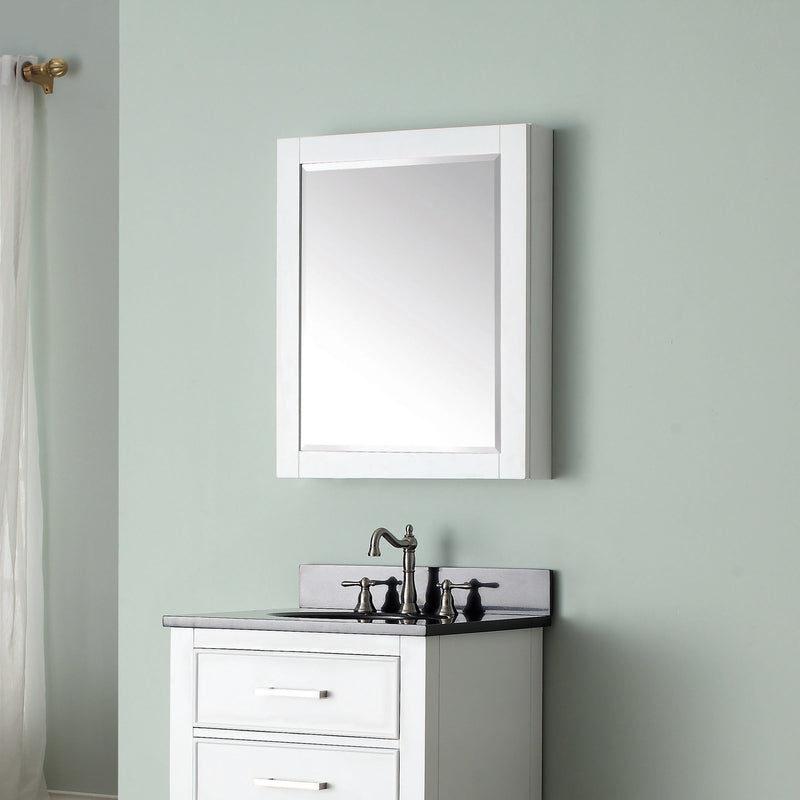 Avanity 24 inch Mirror Cabinet for Brooks / Modero / Delano 14000-MC24-WT