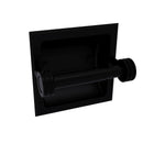 Allied Brass Continental Collection Recessed Toilet Tissue Holder with Dotted Accents 2024-CD-BKM