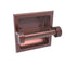 Allied Brass Continental Collection Recessed Toilet Tissue Holder with Dotted Accents 2024-CD-CA
