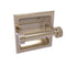 Allied Brass Continental Collection Recessed Toilet Tissue Holder with Dotted Accents 2024-CD-PEW
