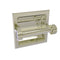 Allied Brass Continental Collection Recessed Toilet Tissue Holder with Dotted Accents 2024-CD-PNI