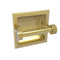Allied Brass Continental Collection Recessed Toilet Tissue Holder with Dotted Accents 2024-CD-SBR