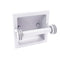 Allied Brass Continental Collection Recessed Toilet Tissue Holder with Dotted Accents 2024-CD-WHM