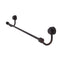 Allied Brass Venus Collection 36 Inch Towel Bar with Groovy Accent 421G-36-VB