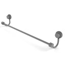 Allied Brass Venus Collection 24 Inch Towel Bar with Twist Accent 421T-24-GYM
