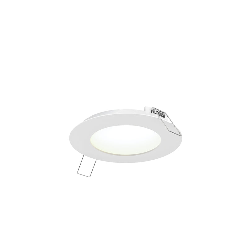 "Dals Lighting 4"" LED Round PRO Panel Light 9W 4000k 600 LM Wht 7004-4K-WH"