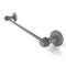 Allied Brass Mercury Collection 36 Inch Towel Bar with Dotted Accent 931D-36-GYM