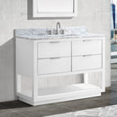 Avanity Allie 42 inch Vanity Only ALLIE-V42-WTS