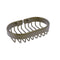 Allied Brass Oval Soap Basket BSK-150LA-ABR