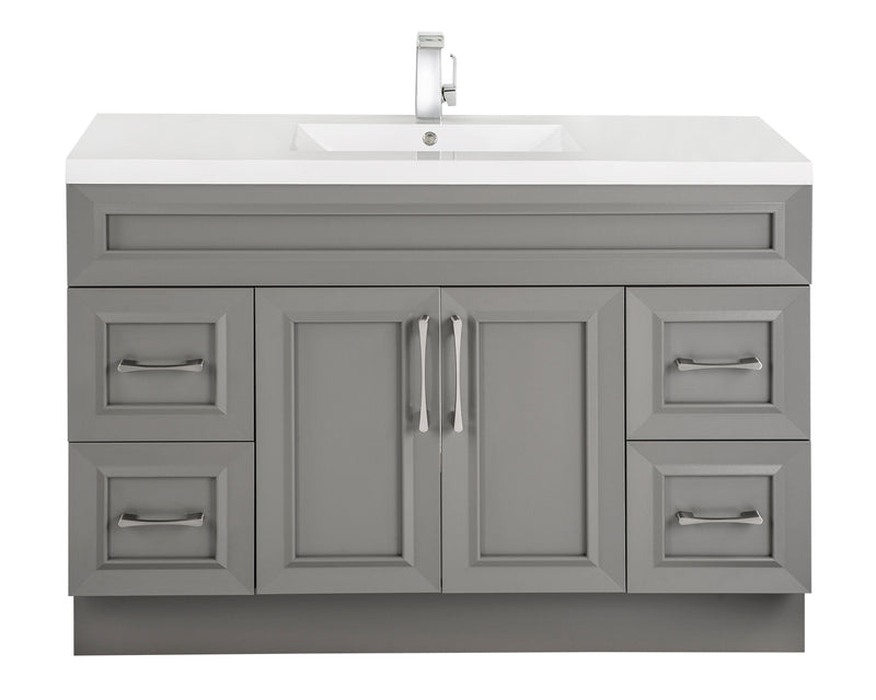 "Cutler Classic Collection 48"" Bathroom Vanity - Fossil"