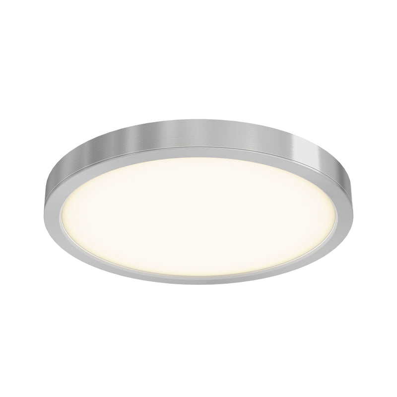 "Dals Lighting 14"" LED Round Flush Mount 120V 28W 3000k 1600 LM SN CFLEDR14-SN"