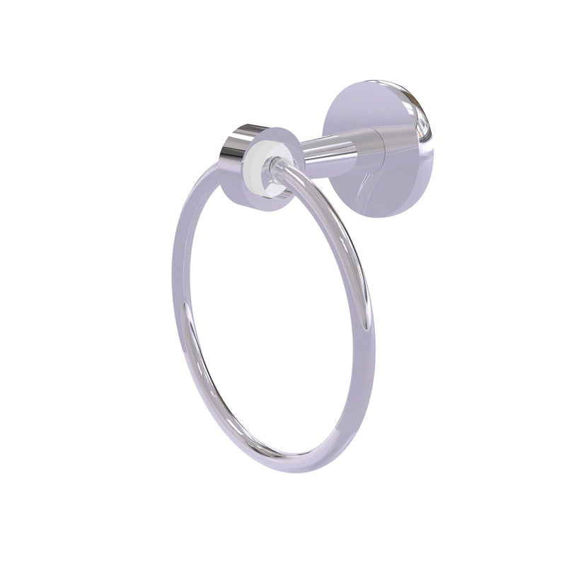 Allied Brass Clearview Collection Towel Ring CV-16-PC