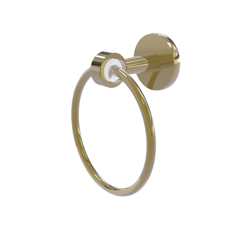 Allied Brass Clearview Collection Towel Ring CV-16-UNL