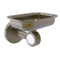 Allied Brass Clearview Collection Wall Mounted Soap Dish Holder with Groovy Accents CV-32G-ABR