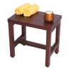 "DecoTeak Eleganto 18"" Teak Shower Bench"