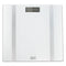 Optima Form Series Glass White And Silver FM-400