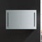 "Fresca Tiempo 48"" Wide x 30"" Tall Bathroom Medicine Cabinet with LED Lighting & Defogger"