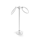 Allied Brass Vanity Top 2 Ring Guest Towel Holder GL-53-WHM